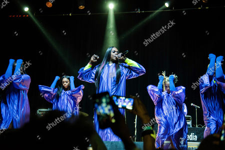 Stock Photo of Big Freedia performs on stage at The Masquerade, in Atlanta