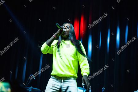 Stock Picture of Big Freedia performs on stage at The Masquerade, in Atlanta