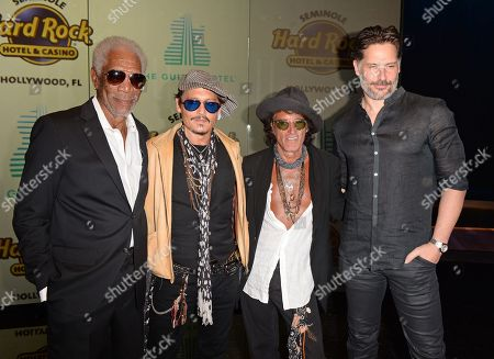 Editorial photo of Guitar Hotel grand opening, Arrivals, Seminole Hard Rock Hotel and Casino, Hollywood, Florida, USA - 24 Oct 2019