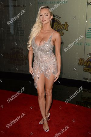 Stock Picture of Lindsey Pelas