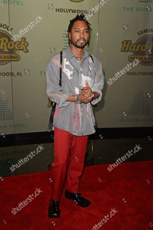 Editorial image of Guitar Hotel grand opening, Arrivals, Seminole Hard Rock Hotel and Casino, Hollywood, Florida, USA - 24 Oct 2019