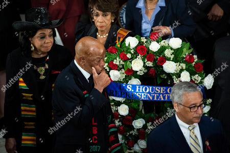 Editorial image of Former Maryland Representative Elijah Cummings Lies In State, Washington DC, USA - 24 Oct 2019