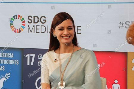Editorial photo of SDGs Media Zone for Climate Action on Plastic, New York, USA - 23 Sep 2019