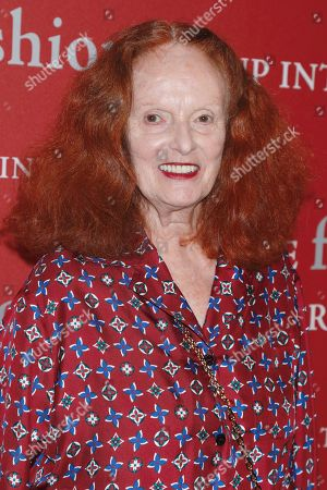 Stock Image of Grace Coddington