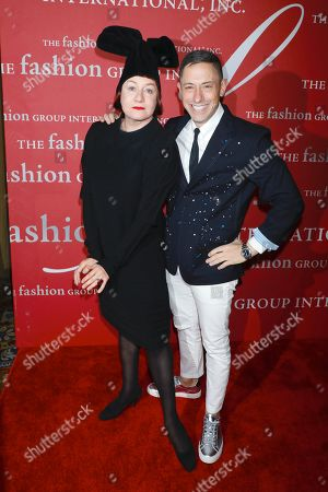 Stock Photo of Nell Campbell and Jonathan Adler