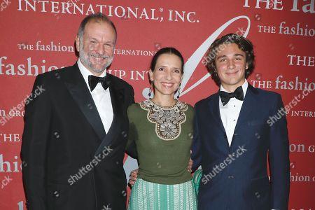 Editorial photo of Fashion Group International's Night of Stars Gala, Arrivals, Cipriani Wall Street, New York, USA - 24 Oct 2019