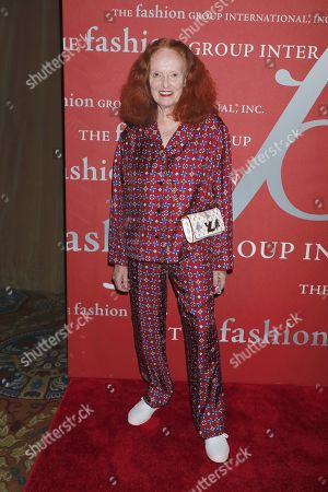 Editorial picture of Fashion Group International's Night of Stars Gala, Arrivals, Cipriani Wall Street, New York, USA - 24 Oct 2019