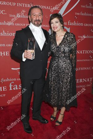 Ralph Rucci and Maryanne Grisz