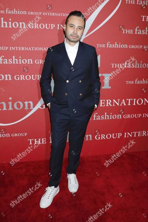 Editorial image of Fashion Group International's Night of Stars Gala, Arrivals, Cipriani Wall Street, New York, USA - 24 Oct 2019