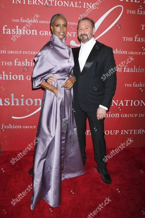 Coco Mitchell and Ralph Rucci