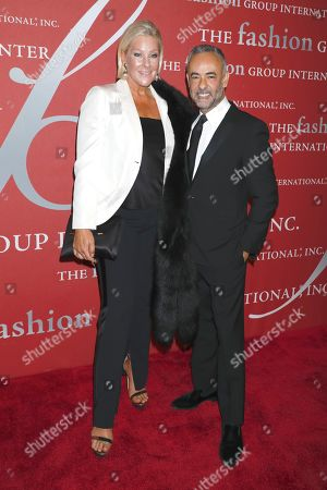 Stock Image of Lisa Marie Ringus and Francisco Costa