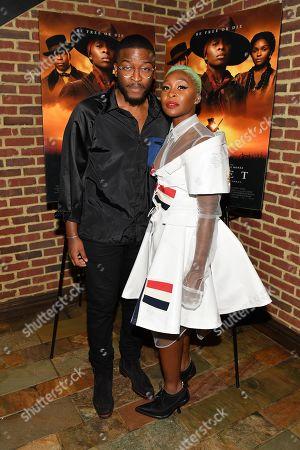 Zackary Momoh and Cynthia Erivo