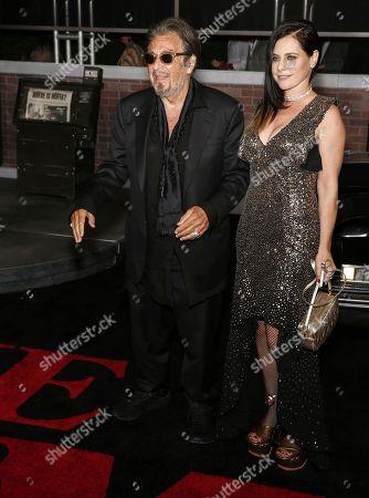 Al Pacino and Meital Dohan