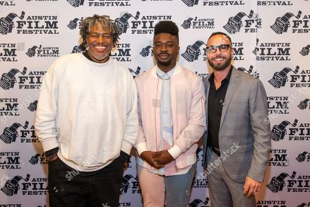 Director Ali Leroi, Writer Stanley Kalu, and Producer Zachary Green