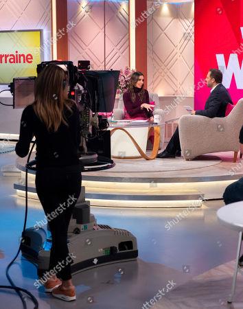 Editorial photo of 'Lorraine' TV show, London, UK - 25 Oct 2019