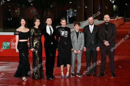 Editorial photo of 'Run With the Hunted' film premiere, Rome Film Festival, Italy - 24 Oct 2019