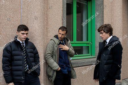 Riccardo Mandolini as Damiano Younes, Andrea De Sica Director Lorenzo Zurzolo as Niccolo Rossi Govender