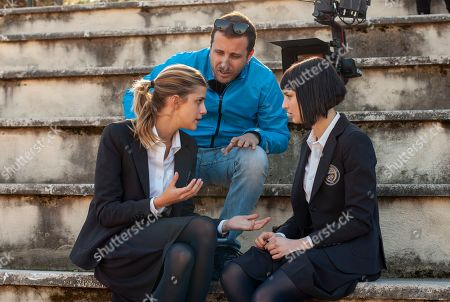 Benedetta Porcaroli as Chiara Altieri, Andrea De Sica Director Alice Pagani as Ludovica Storti
