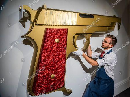 Enlarged Model 'James Bond's New Gun', Designed by David Collins and Floris Van Den Broecke for Granada Publishing LTD., 1977, est. £3,000-5,000