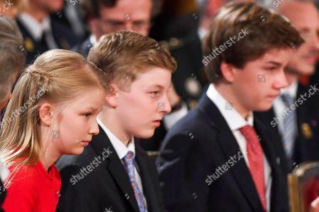 Princess Eleonore, Prince Emmanuel, Prince Gabriel