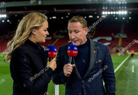 Laura Woods and Ray Parlour on SKY Sports
