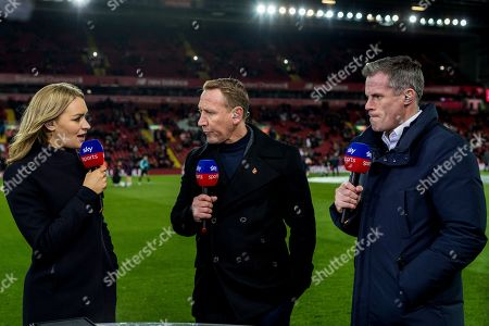 Laura Woods, Ray Parlour and Jamie Carragher on SKY Sports