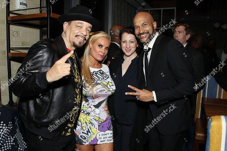 Ice-T, Nicole Coco Austin, Elisa Key, Keegan-Michael Key