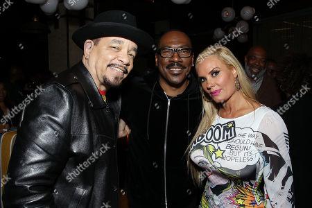 Ice-T, Eddie Murphy, Nicole Coco Austin