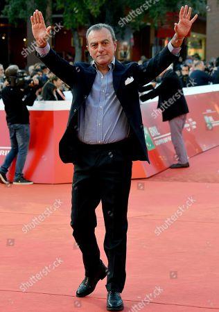 Antonello Sarno arrives for the screening of 'Carlo Vanzina. Il cinema è una cosa meravigliosa' at the 14th annual Rome Film Festival, in Rome, Italy, 25 October 2019. The film festival runs from 17 to 27 October.