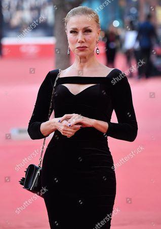 Nancy Brilli arrives for the screening of 'Carlo Vanzina. Il cinema è una cosa meravigliosa' at the 14th annual Rome Film Festival, in Rome, Italy, 25 October 2019. The film festival runs from 17 to 27 October.