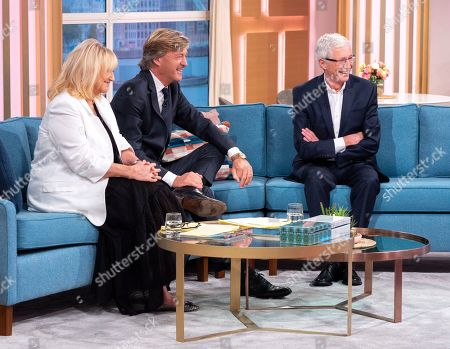 Editorial image of Exclusive - 'This Morning' TV show, London, UK - 25 Oct 2019