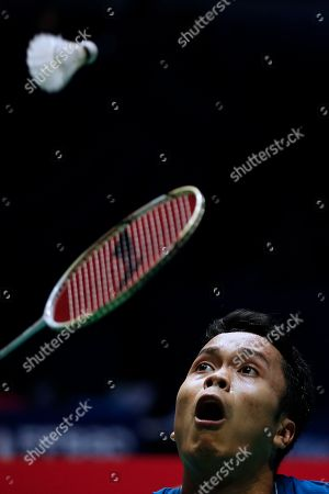 Editorial picture of Badminton French Open 2019 in Paris, France - 25 Oct 2019