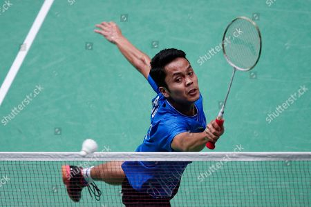Editorial image of Badminton French Open 2019 in Paris, France - 25 Oct 2019