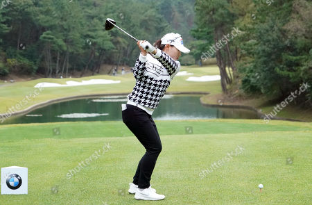Somi Lee of South Korea during the second round