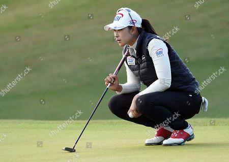 Editorial photo of BMW Ladies Golf Championship, Second Round, LPGA tour, Busan, South Korea - 25 Oct 2019