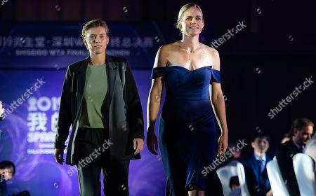 Editorial photo of WTA Finals Tennis Tournament, Gala, Shenzhen, China - 25 Oct 2019