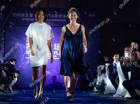 Editorial picture of WTA Finals Tennis Tournament, Gala, Shenzhen, China - 25 Oct 2019