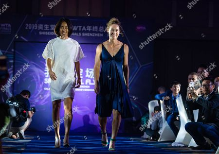 Editorial image of WTA Finals Tennis Tournament, Gala, Shenzhen, China - 25 Oct 2019