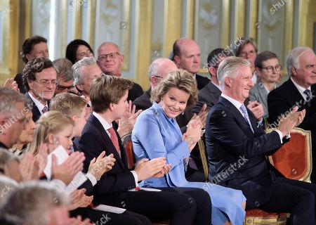 Editorial image of Princess Elisabeth 18th birthday celebrations, Brussels, Belgium - 25 Oct 2019