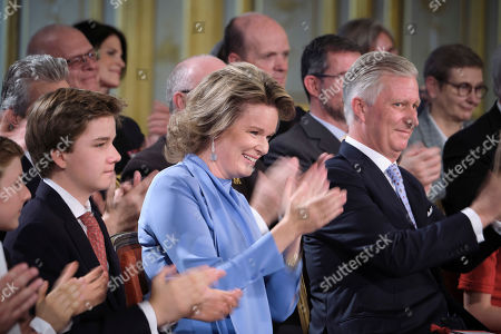 Editorial picture of Princess Elisabeth 18th birthday celebrations, Brussels, Belgium - 25 Oct 2019