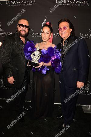 Desmond Child, Ivy Queen and Rudy Perez