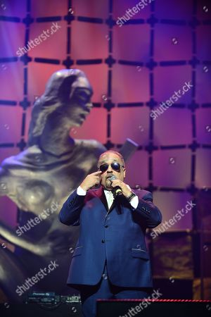 Editorial picture of 7th Annual Latin Songwriters Hall Of Fame La Musa Awards, Miami, USA - 24 Oct 2019