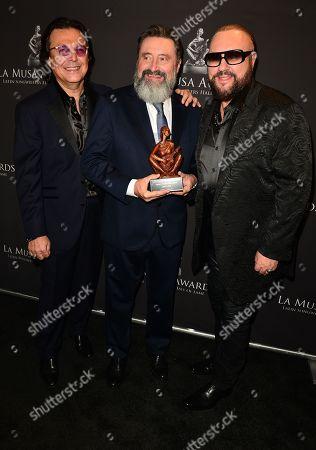 Rudy Perez, Jesus Lopez and Desmond Child