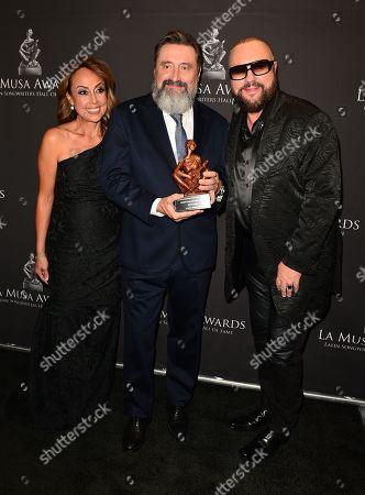 Delia Orjuela, Jesus Lopez and Desmond Child