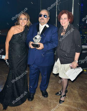 Delia Orjuela, Willie Colon and Karen Sherry