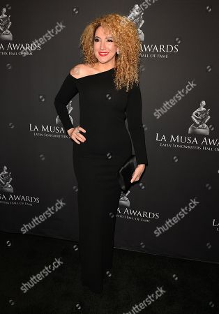 Editorial image of 7th Annual Latin Songwriters Hall Of Fame La Musa Awards, Miami, USA - 24 Oct 2019