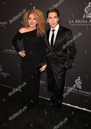 Stock Photo of Erika Ender and Nicolas Felizola