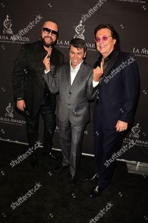 Desmond Child, Alvaro Torres and Rudy Perez