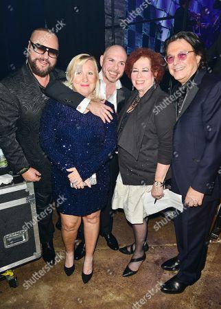 Desmond Child, Pitbull, Karen Sherry and Rudy Perez