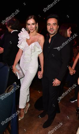 Agueda Lopez and Luis Fonsi